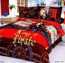 boys bedding sheet set with pirate designs korsan junior duvet covers fun bedding for children bed covers for kids