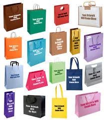 personalised custom printed gift bags