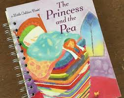 princess and the pea book. The Princess And Pea Little Golden Book Recycled Journal