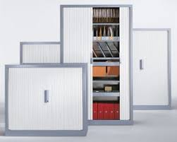 office storage cabinets. Metal Shell Tambour Storage Office Cabinets