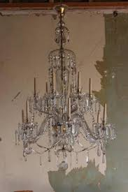 wonderful circa 1920s 1930s spanish glass chandelier of very large size in the