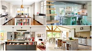 Open Kitchen Island Designs 18 Neat Ergonomic Kitchen Islands Designs Featuring Open Shelving