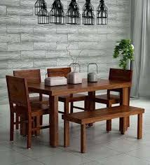 solid wood dining table acropolis solid wood six dining set with bench in provincial teak solid wood dining table