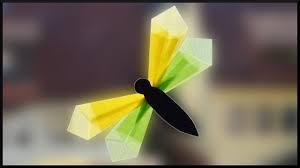 Diy Transparent Paper Summer Window Decoration Dragonfly