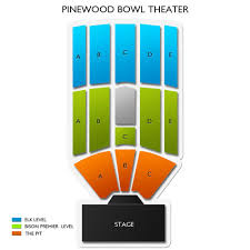 Pinewood Bowl Theater 2019 Seating Chart