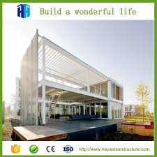 Prefabricated steel structure building of marketing building