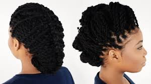Twist Hair Style 3 Ways To Style Your Kinky Twist Hairstyles Tutorial 6 Of 7 Youtube 3353 by stevesalt.us
