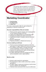 Resume Sample Advance Example Resume Marketing Objectives Resume