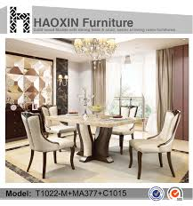 malaysia antique style dining table set with paper marble top for inspiring dining table themes