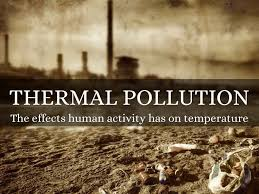 short essay on thermal pollution