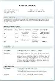 Different Resume Format 3 Types Resumes Of Different Resume Formats This Is How Type A
