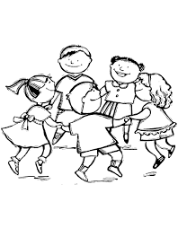 Disegni Bambini Stilizzati Az Colorare
