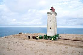Danes Try To Move 120 Year Old Lighthouse From Eroding Coast