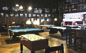 sports bar furniture. The Melting Pot Features Two Large Projection Screens For Major Events, And Smaller Flat Screen TVs Behind Bar. Ubud Sports Bar Has Multiple Furniture