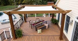 tensioned shade sail pergola canopy