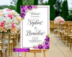 Welcome Purple Purple Wedding Welcome Sign Printable Purple Welcome Wedding Sign Lavender Welcome Wedding Sign Violet Welcome Wedding Sign Violet Sign 33c