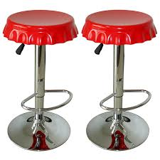 patio stool: amerihome bsset soda cap bar stool