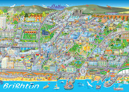 phil dobson – brighton map – brighton creatives