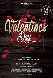 Valentines Flyers Valentines Day 2018 Psd Flyer Template Free Psd Flyer
