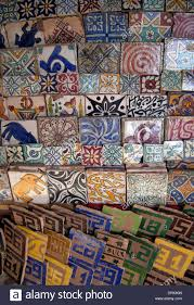 Decorative Ceramic Tiles For Sale Decorative ceramic tiles for sale in the souq Marrakech Morocco 2