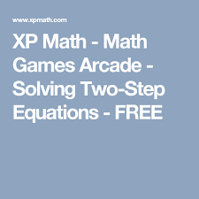 xp math math arcade solving two step equations free