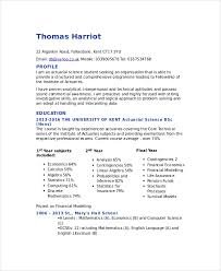 Science Resume Template Beauteous Actuarial Resume Template 28 Free Word PDF Documents Download