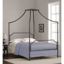 Canopy Bed Crown Molding Bailey Charcoal Full Size Canopy Bed Frame Bailey Full Size Bed