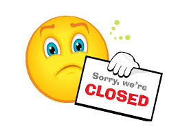 Image result for school closed sign