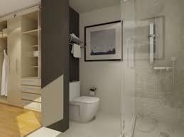 Apartment Bathroom Designs Impressive Walk In Closet And Bathroom Ideas Algarve Apartments