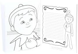 Elf On The Shelf Coloring Pages Elf On The Shelf Pictures To Color