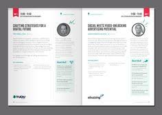How To Create An Event Program Booklet 12 Best Conference Program Images Conference Program
