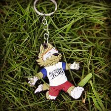 2018 New <b>Lovely Mascot</b> Keychain Wolves Playing Football ...