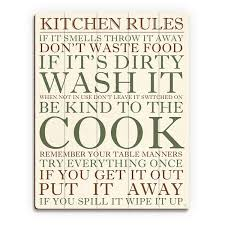 kitchen rules green wall art print on wood on wall art kitchen rules with shop kitchen rules green wall art print on wood on sale free