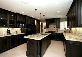 dark cabinets white countertops backsplash black kitchen cabinets mess home design furniture