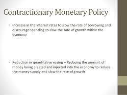 econ essay writing new 20 contractionary monetary policy