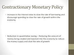 econ essay writing new 20 contractionary monetary policy