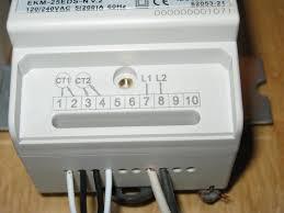 ekm meter setup for v circuits ekm meter terminal block