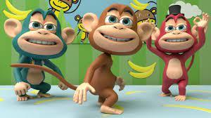 Five little monkeys - Nursery Rhymes Baby songs & Kids Songs - YouTube