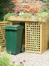 trash bin storage trash can patio trash can outdoor garbage can enclosure wooden trash can storage trash bin storage outdoor trash can