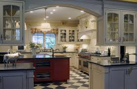Checkered Kitchen Floor Beechtree Lane Custom Kitchen Project Creative Kitchens