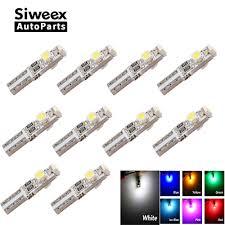 <b>10pcs T5 LED Car</b> Auto LED 3 led smd 3528 Wedge LED Light Bulb ...