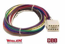 strobe power supply whelen ups690 strobe power supply 10 pin plug cable connector wire power 1 foot
