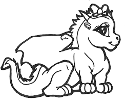 Dragon Pictures Coloring Pages At Getdrawingscom Free For