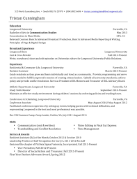 College Admissions Counselor Resume Examples Brilliant Ideas Of