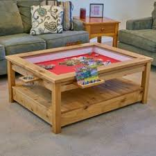 The Viscount: Rustic Gaming Coffee Table