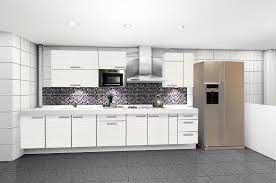 Engaging Modern White Cabinets Kitchen And Decor Inside 0 Cabinet