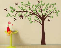 wall decor by pop decors popdecors big tree with love birds 100