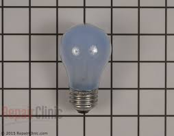 refrigerator light bulb. light bulb - part # 4454761 mfg w10887190 refrigerator