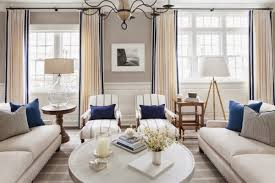 Ellis Residence  Traditional  Living Room  Chicago  By Kate Navy And White Living Room