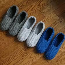Men Bedroom Slippers Mens Slipper Pattern Etsy